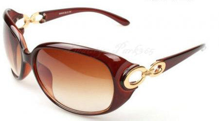 Women's Hollywood Star Fashion SunGlasses - Brown -  - 1