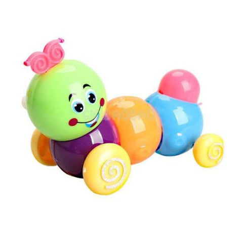 Kids/Toddler Developmental Educational WIND-UP Caterpillar Toy -  - 1