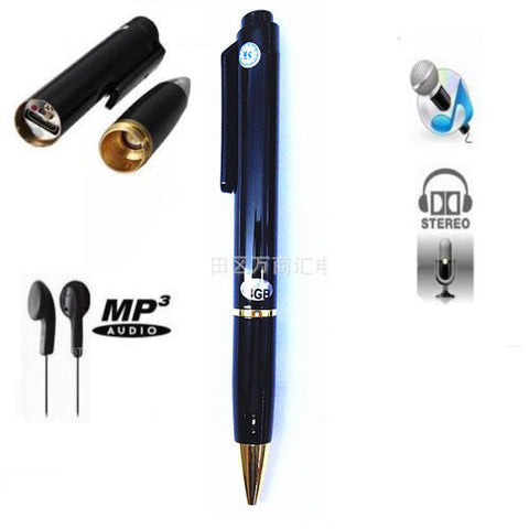 Cool Spy Recorder Pen - 8GB Memory Audio Voice Recorder -  - 1