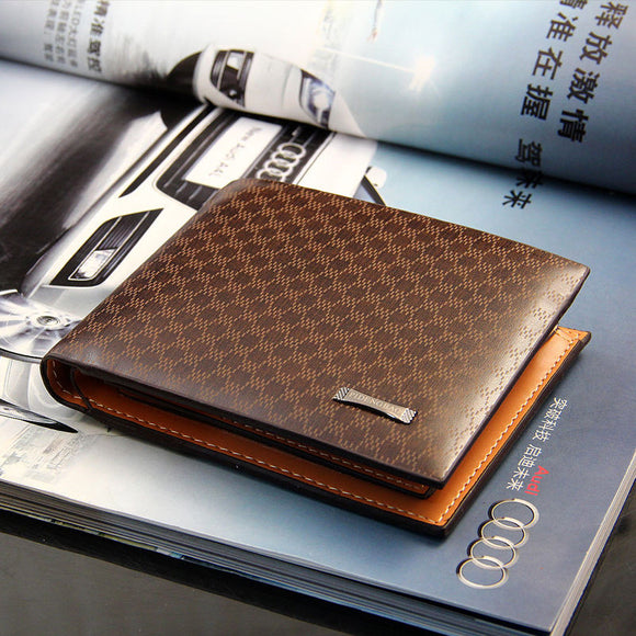 Men's PU Leather BUSINESS Fashion Wallet - Thirsty Buyer - 1