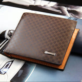 Men's PU Leather BUSINESS Fashion Wallet - Thirsty Buyer - 2