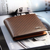 Men's PU Leather BUSINESS Fashion Wallet - Thirsty Buyer - 3