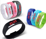 Touch Screen Button LED Bracelet Watches Men, Women, & Kids - Thirsty Buyer - 1