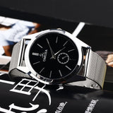 Men's Luxury TUXEDO Stainless Steel Quartz Watch -  - 2