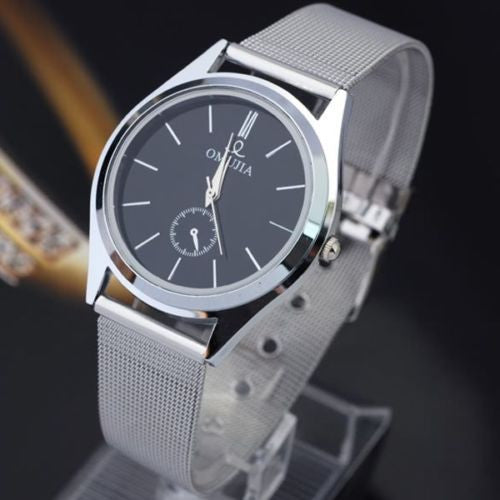 Men's Luxury TUXEDO Stainless Steel Quartz Watch -  - 1