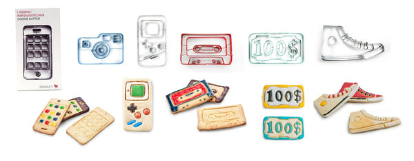 Indoor Fun Kids, Baking Kids, Cookie Cutters Modern, Zeitgeist Gifts