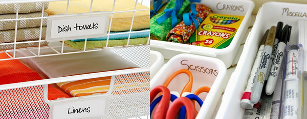 Organize Drawers, Clean up house