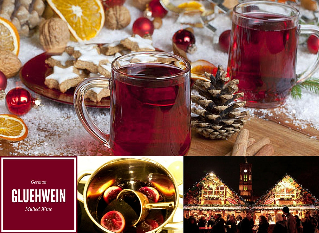 German Christmas Tradition, Gluehwein, Mulled Wine, Holiday Parties