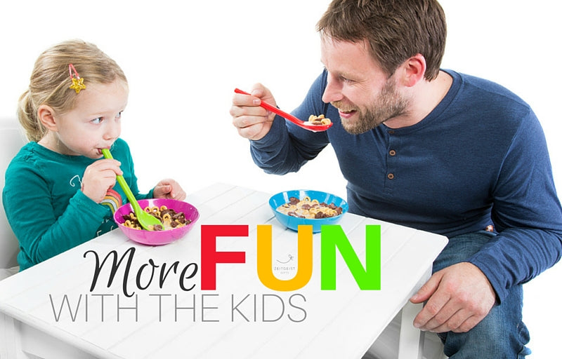 Fun Kids, Ease Routine, Less stress kids, family, new ideas