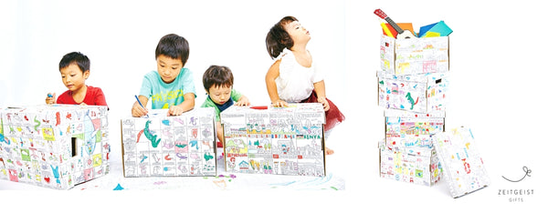 Kids Coloring Box, NuRie, Coloring Fun, Kids Room