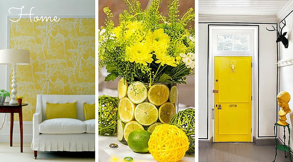 spring home decor, spring decorating, color pop yellow, ready for spring, spring tips
