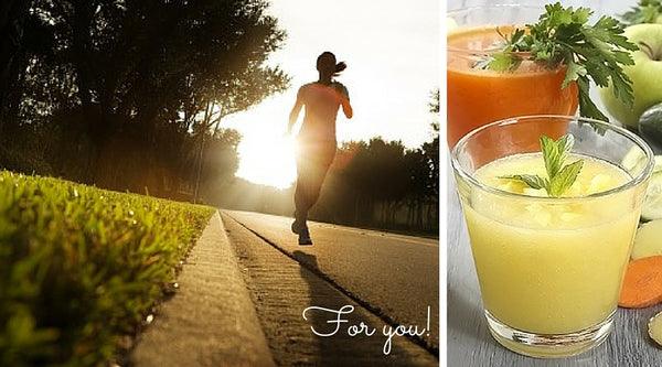 fit spring, ready for spring, morning run, boost energy, healthy living, smoothie, juicer