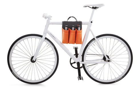Bike Bag 6 Pack Carrier Orange