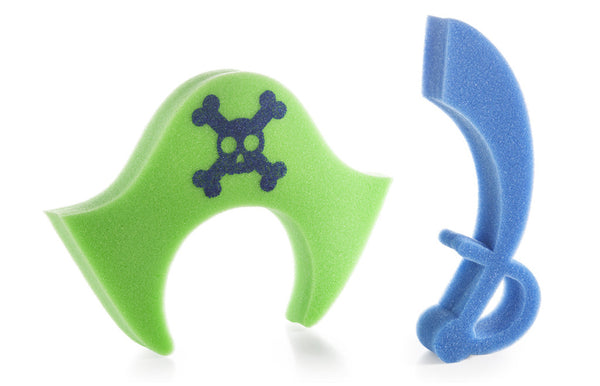Bath Sponges Pirates Set of 2 - Zeitgeist Gifts