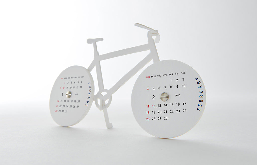 Urban Bike - Unique 3D Paper Art Calendar 2018