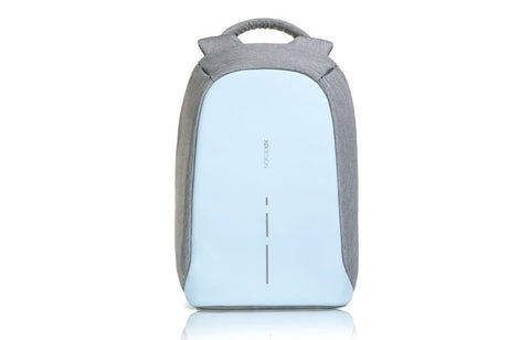 Bobby Compact - Stylish Anti-Theft Backpack Light Blue