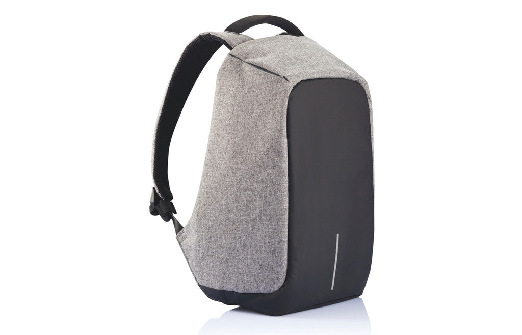 Bobby - Stylish Anti-Theft Backpack Gray