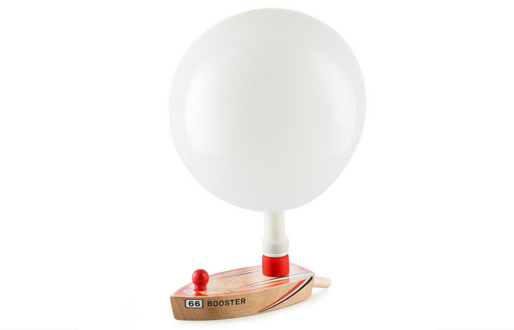 Booster 66 Balloon Powered Wooden Boat - Zeitgeist Gifts