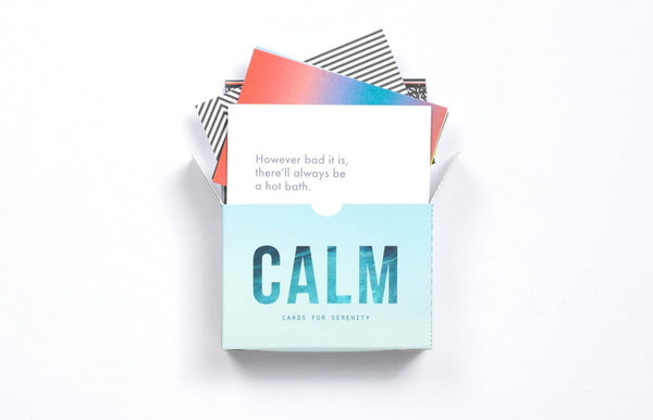 Calm - Prompt Cards For Stress And Frustration