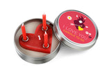 Candle to Go in Tin Love - Zeitgeist Gifts