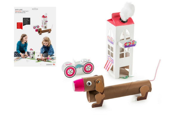 """City Life"" Urban Living Pack & Play Craft Set - Zeitgeist Gifts"