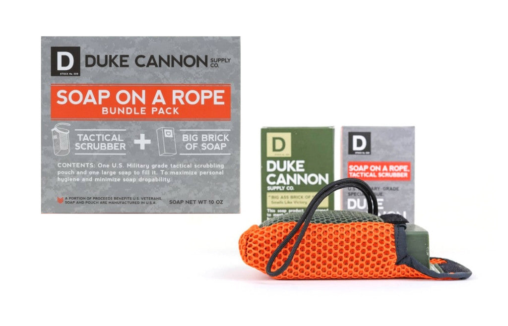 Duke Cannon - Tactical Soap on a Rope & Soap Bundle
