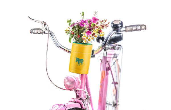 Bike Bag Bottle Carrier Yellow