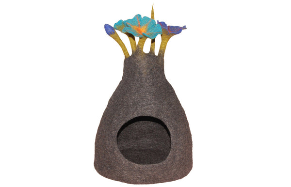 Flower Bouquet Cave - Felt Pet Bed