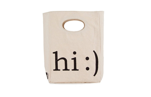 Unique Organic Lunch Bag HI :)
