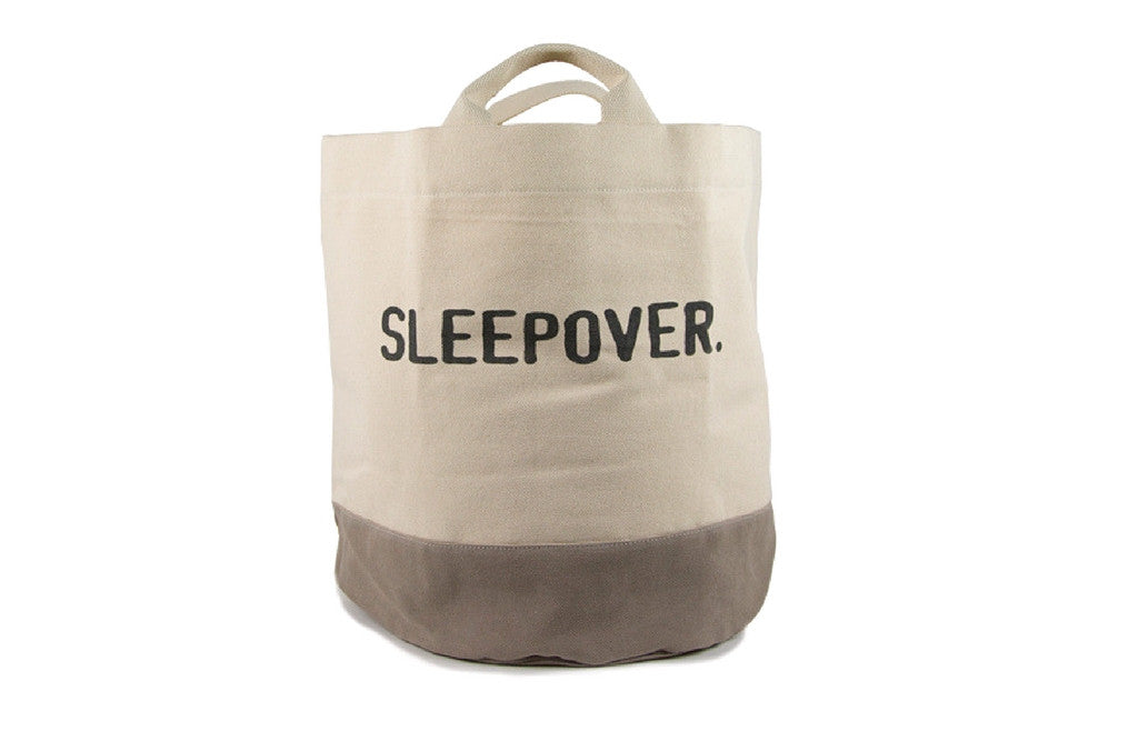 Fun Sleepover Tote - ALL-IN-ONE - Zeitgeist Gifts