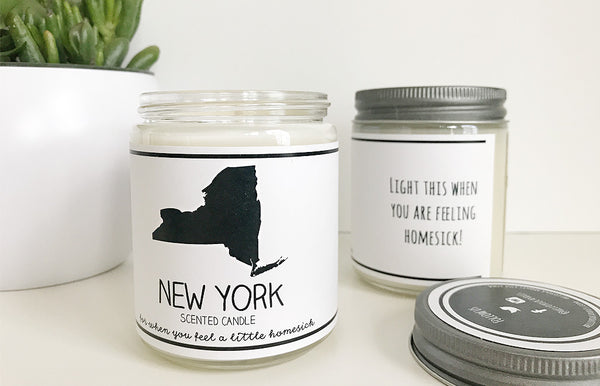 Handmade New York Scented Soy Candle