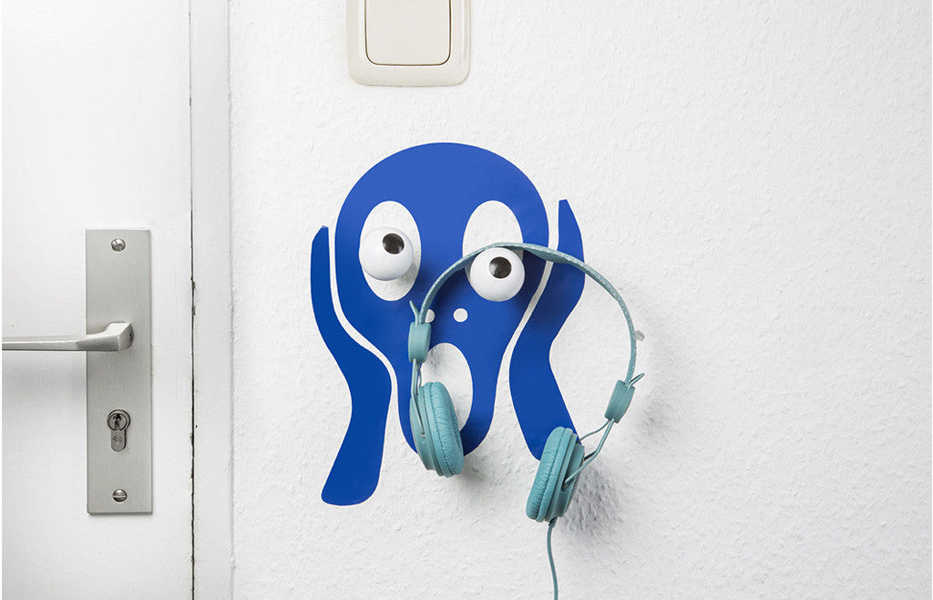 Wall Hook & Decal Hookly Scream