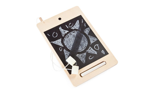 I-Wood Mini Wooden Tablet Natural Wood