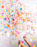Jumbo Confetti Party Balloon - Multi-Colored - Zeitgeist Gifts