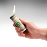 "Fire Lighter Ignitor ""Burn your Dollar"" - Zeitgeist Gifts"