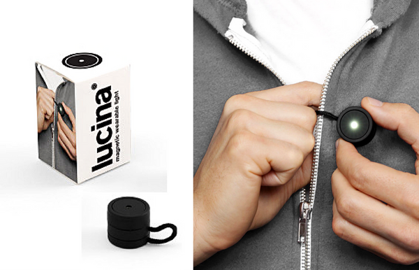 Lucina - Magnetic Wearable Light