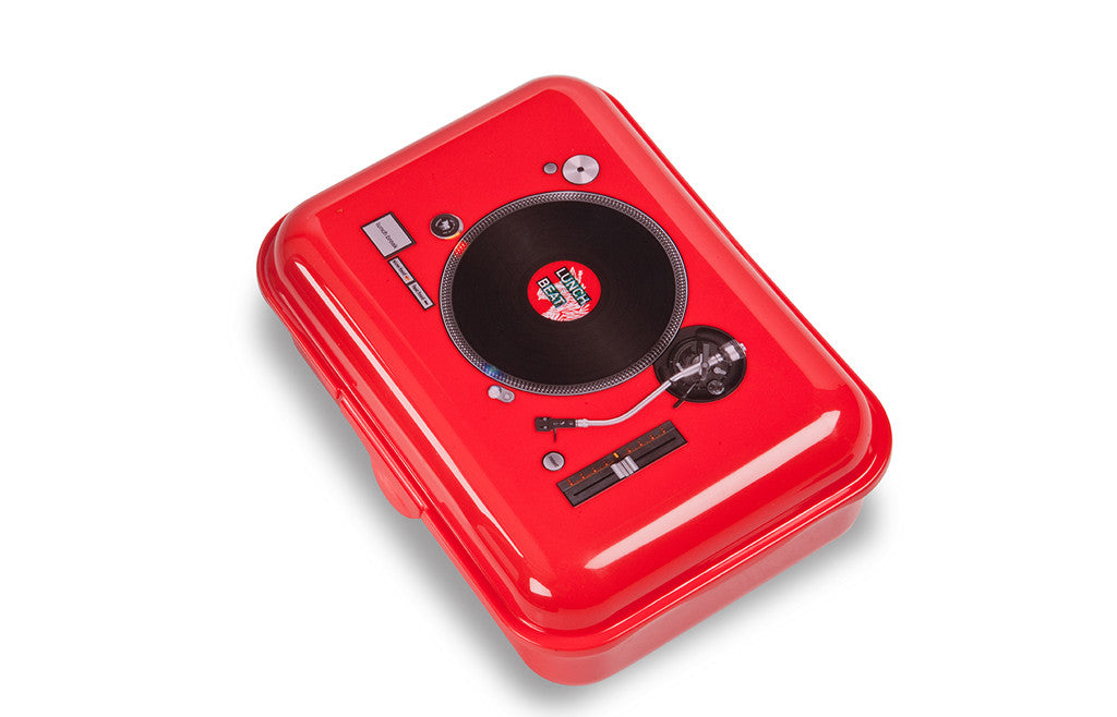 Record player lunchbox