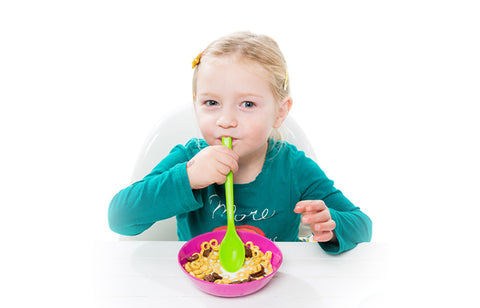 Sipping Spoon for Cereal Müsli Caspar Green