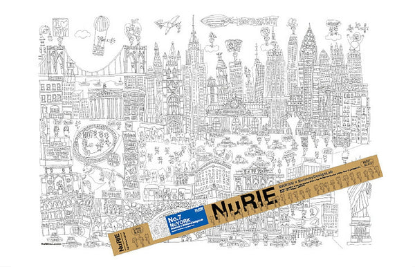 Giant Coloring Poster New York - Zeitgeist Gifts