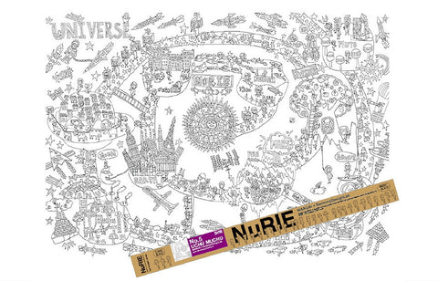 Giant Coloring Poster Universe