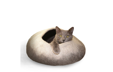 Natural Ombre Cave - Felt Bed for Small Pets