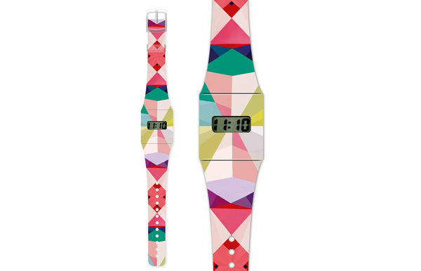 Fashion Pappwatch Made of Paper - Geometrical3