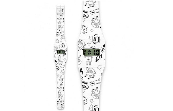 Kids Watch Made of Paper Tyvek - Roboto