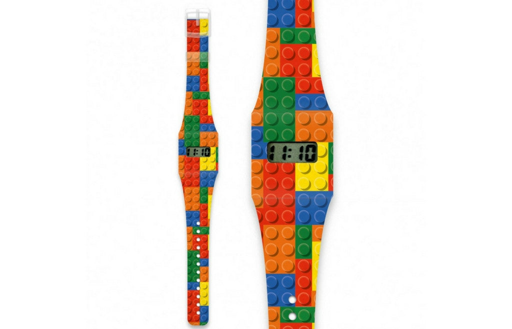 Kids Watch Made of Paper Tyvek - Lehgu Lego!