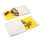 Snack Packs Chatter (Pack of 2) Made of Organic Cotton - Zeitgeist Gifts
