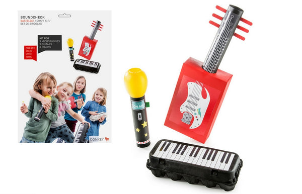 """Sound Check"" Pack & Play Toy Set Craft Set - Zeitgeist Gifts"