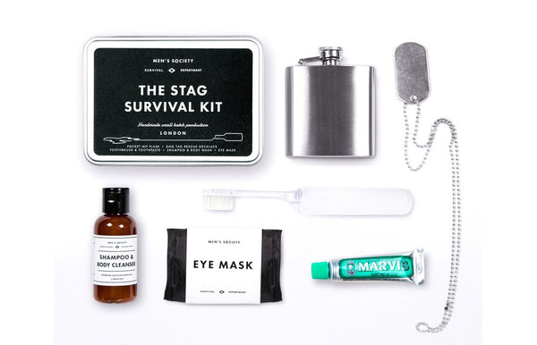 Cool Guys Stag Night Survival Kit