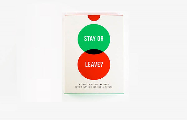 Stay or Leave! Card Game For Relationship Problems