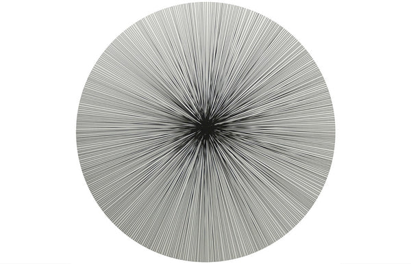Place-Mat / Coaster Lines Black - Zeitgeist Gifts