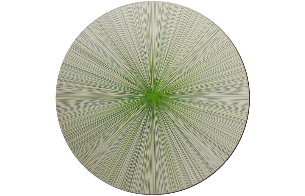 Place-Mat / Coaster Lines Green-Multi - Zeitgeist Gifts